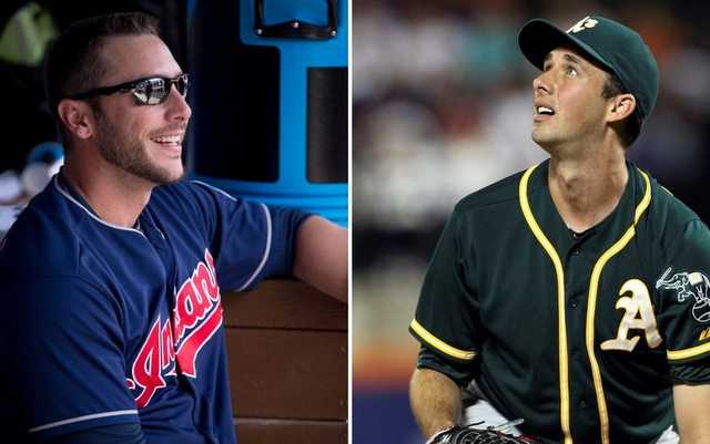 George Kottaras (l.) and Jeff Francis landed with new teams on Friday.