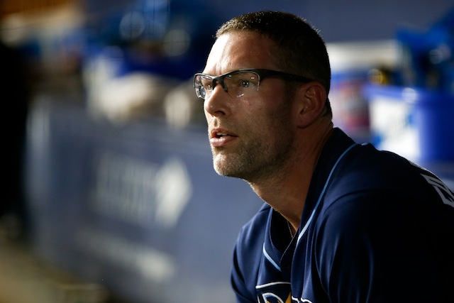 Kyle Farnsworth's 'Rays days' are over. (USATSI)