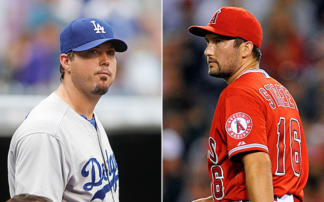 Josh Beckett and Huston Street sit at the top of our latest installment of Leaderboarding.