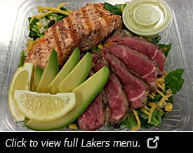 Lakers Menu
