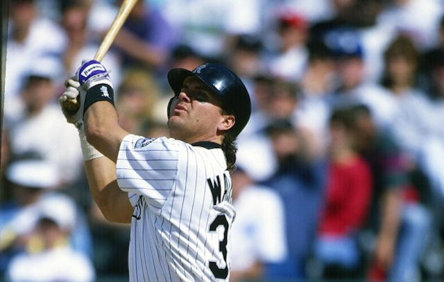 Larry Walker is on the Hall of Fame ballot for the fourth year.