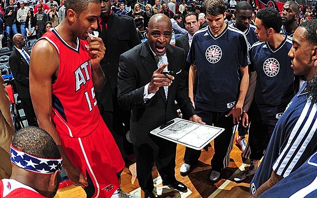 As the Hawks meet candidates for what's still his job, Larry Drew is preparing for his departure. (Getty Images)