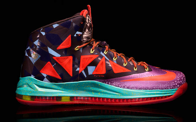 LeBron James' MVP-edition of the 'LeBron X' (Nike)