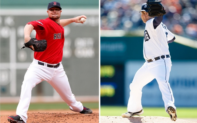 A pair of former minor league teammates will square off in Game 1.