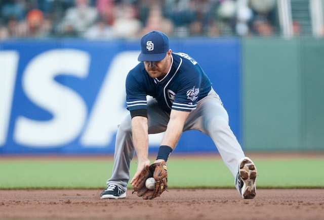 Logan Forsythe is reportedly headed to the Rays. (USATSI)