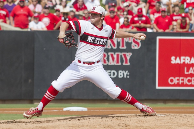 NC State's Carlos Rodon is one of the prospects we'll be discussing in this year's pre-draft Q&A. (USATSI)