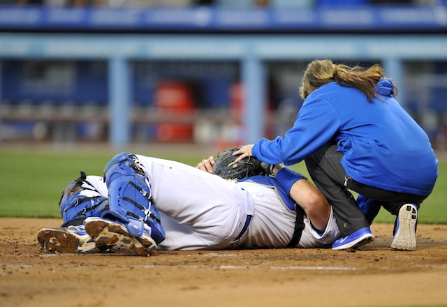 With any luck, we'll soon be seeing less of this in MLB. (USATSI)