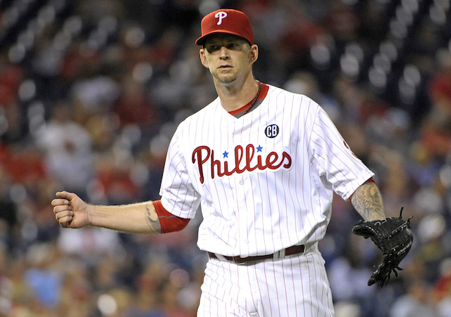 The Phillies would probably like to trade A.J. Burnett, but ... (USATSI)