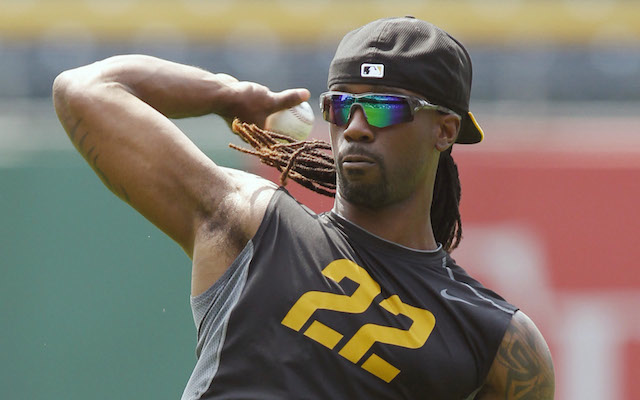 Andrew McCutchen is working his way back from a rib fracture. (USATSI)