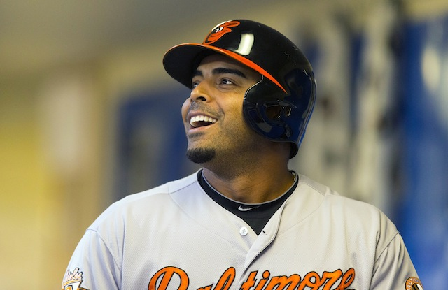 The Orioles got a scare regarding MLB home run leader Nelson Cruz on Sunday. (USATSI)