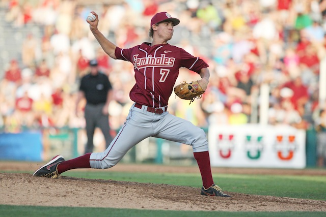 First-rounder Luke Weaver has been inked by the Cardinals. (USATSI)