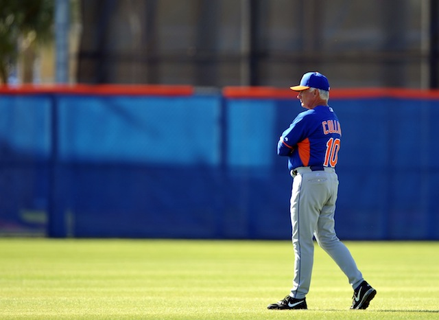 Terry Collins has been doing some thinking about the Mets' rotation. (USATSI)