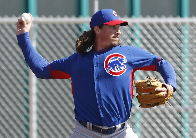 Will Jeff Samardzija soon be traded? The answer depends on whom you ask. (USATSI)