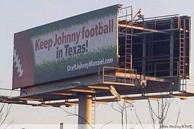 Fans want Houston to bypass better prospects for Johnny Manziel.