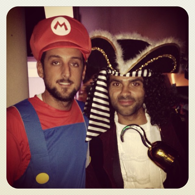 PHOTOS: NBA players posting their Halloween costumes