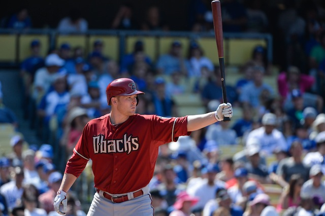 The D-backs may be without Mark Trumbo's bat for quite a while. (USATSI)