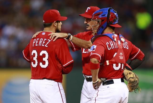 Rangers lefty Martin Perez will reportedly undergo season-ending elbow surgery. (USATSI)