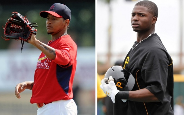 Martinez (left) and Polanco are just two impact prospects in the Senior Circuit.