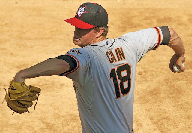 Will Matt Cain take the mound again in 2014? That remains to be seen. (USATSI)