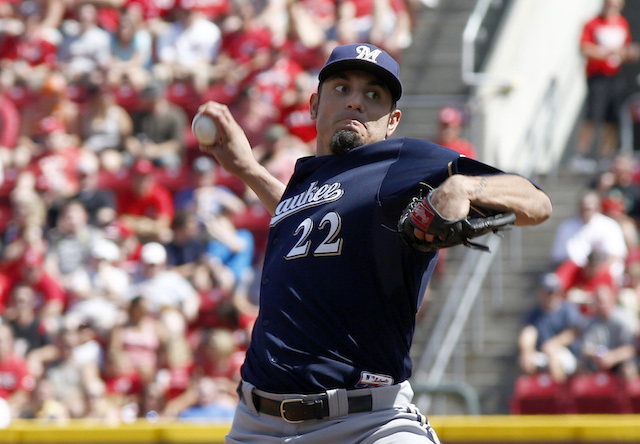 Matt Garza's Saturday gem against the Reds is part of a larger trend in Milwaukee. (USATSI)