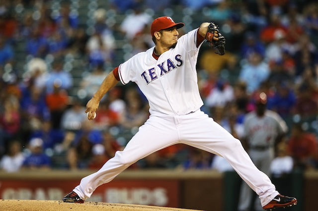 There's a developing market for the services of Matt Garza. (USATSI)