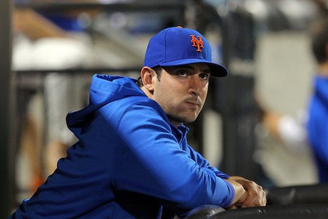 There's reason to believe Matt Harvey's recovery from Tommy John surgery is going well. (USATSI)