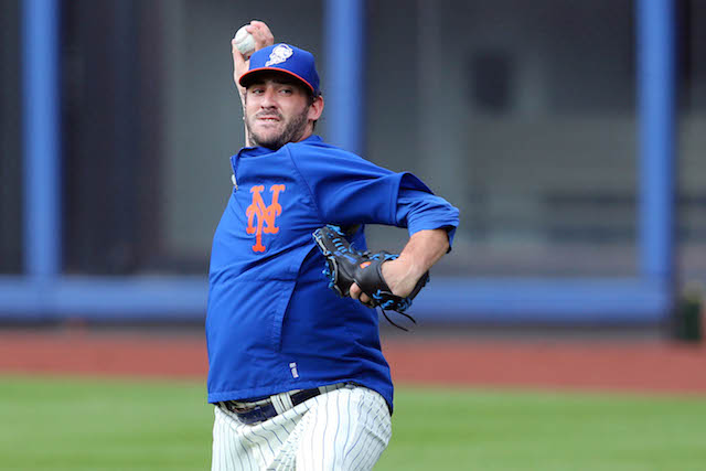 Matt Harvey is ready to take the next step in his recovery from Tommy John surgery. (USATSI)
