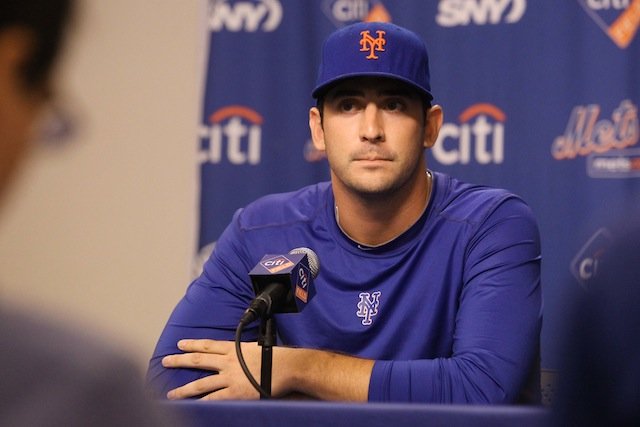 Are Matt Harvey and the Mets no longer on the same page? (USATSI)