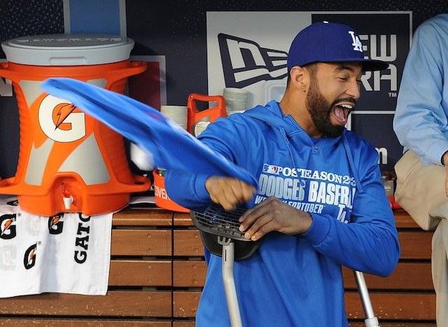 How's Matt Kemp's road to recovery going? That and more in the roundup. (USATSI)