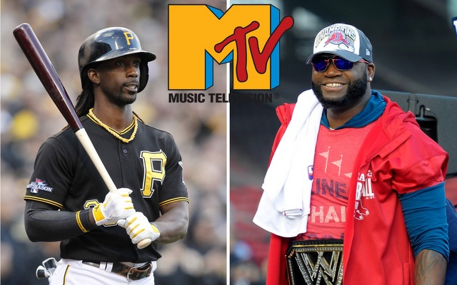 Andrew McCutchen and David Ortiz will have a role in MLB's new partnership with MTV.