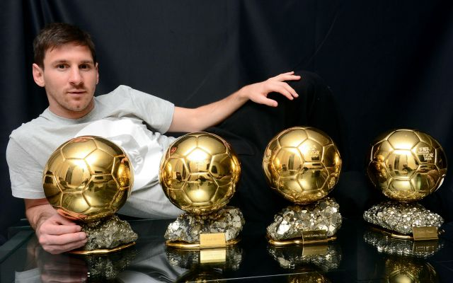 Messi Offered Up His Number But The Trophies Are All USATSI