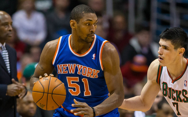 Could Metta World Peace head back to the Knicks? (USATSI)