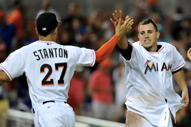 The 2014 Marlins don't have much, but they do have Giancarlo Stanton and Jose Fernandez. (USATSI)