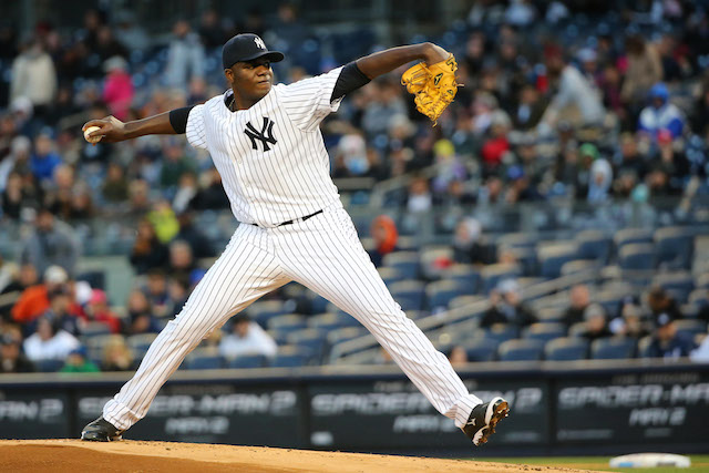 Michael Pineda is about ready to start doing this again for the Yankees. (USATSI)