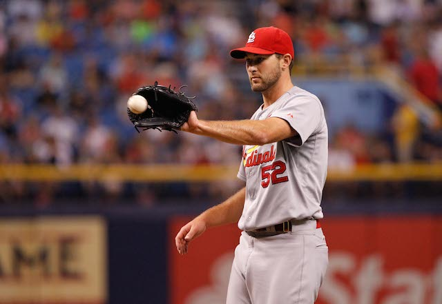 The Cardinals aren't sure when Michael Wacha will be getting the ball again. (USATSI)