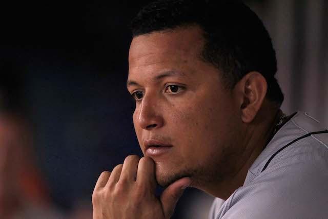 More injury concerns for Miguel Cabrera? (USATSI)