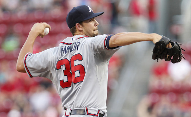 Mike Minor is chasing history in Cincinnati on Friday night. (USATSI)