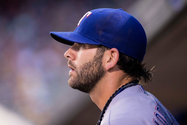 Mitch Moreland is the latest Ranger to go down with a serious injury. (USATSI)