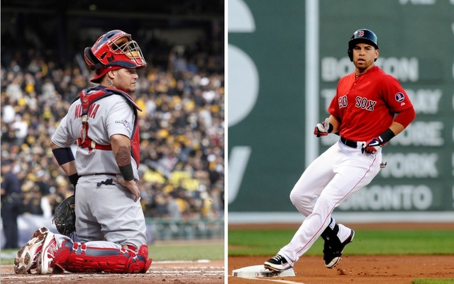 Yadier Molina vs. Jacoby Ellsbury will be a fun sideshow during the Fall Classic.