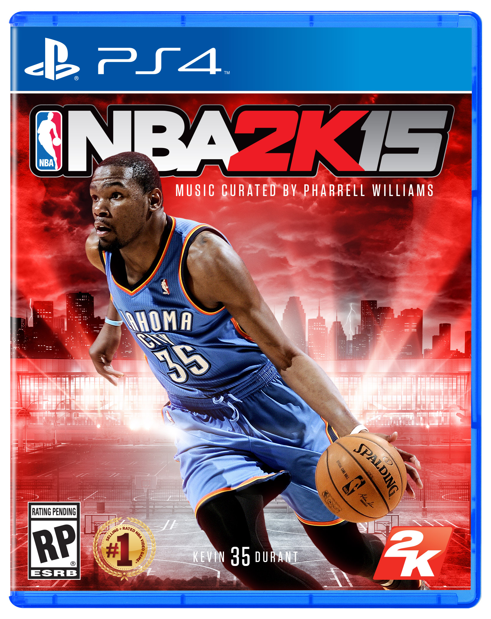 'NBA 2K15' releases Kevin Durant cover, Pharrell to ...