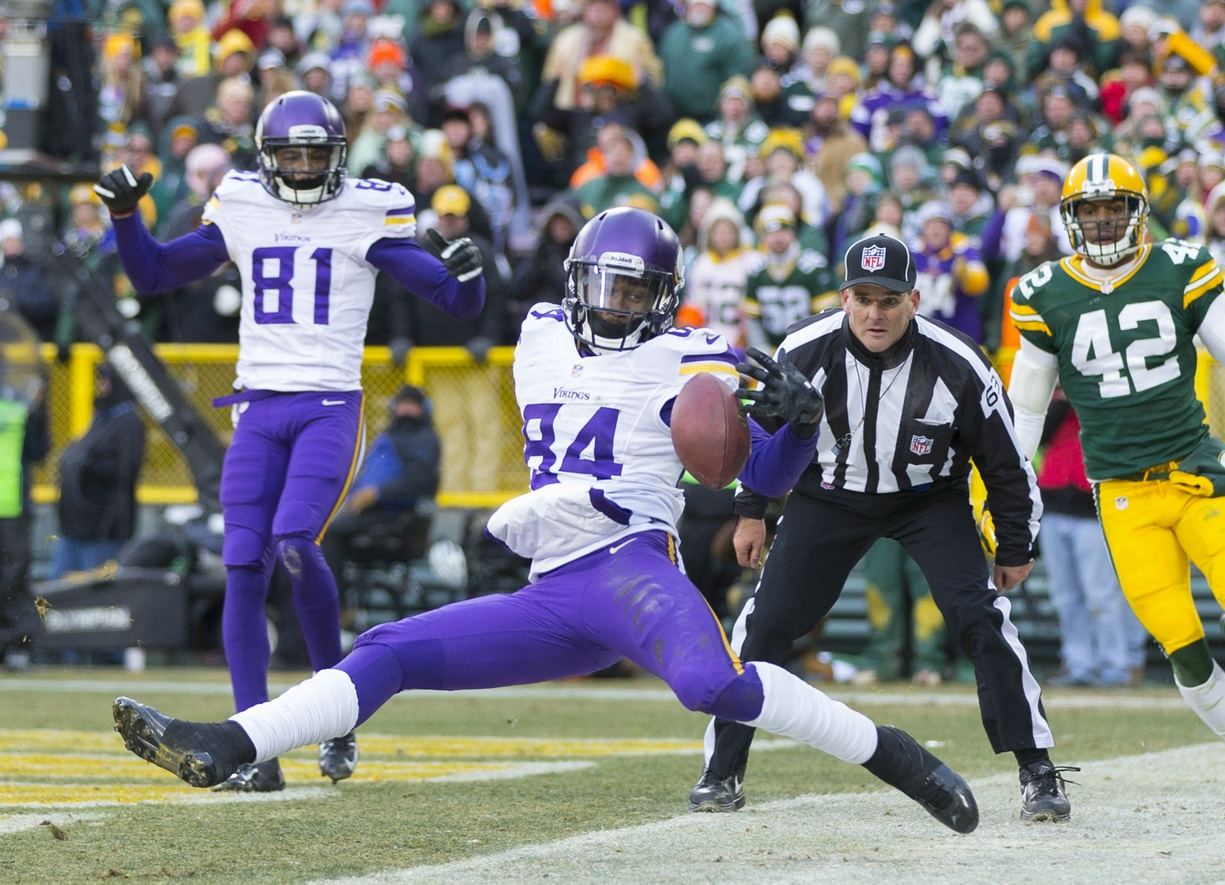 Cordarrelle Patterson is not celebrating a tie.