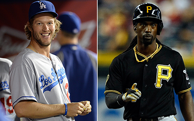 The frontrunners for NL MVP right now are Kershaw and McCutchen.