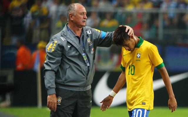 Neymar, Scolari, 2014 World Cup, Brazil