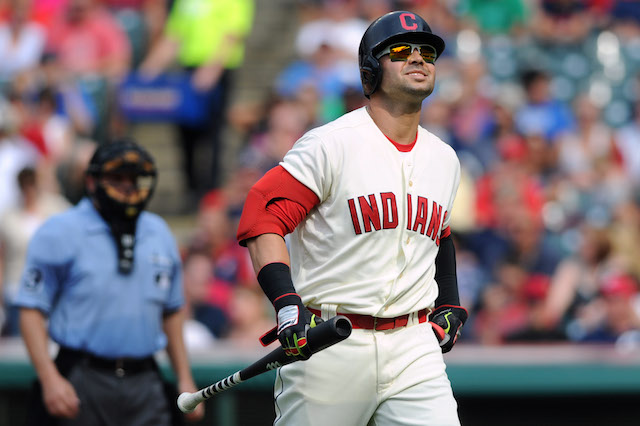 Nick Swisher is one of two Indians regulars to hit the DL on Sunday. (USATSI)