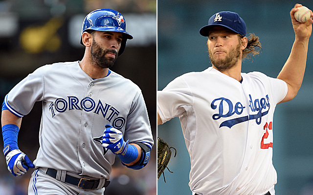 Bautista and Kershaw star in this entry of Leaderboarding.