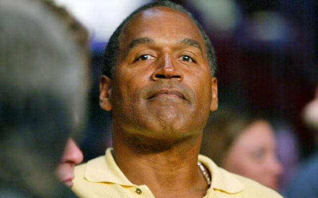 O.J. Simpson is currently behind bars for armed robbery. (Getty Images)