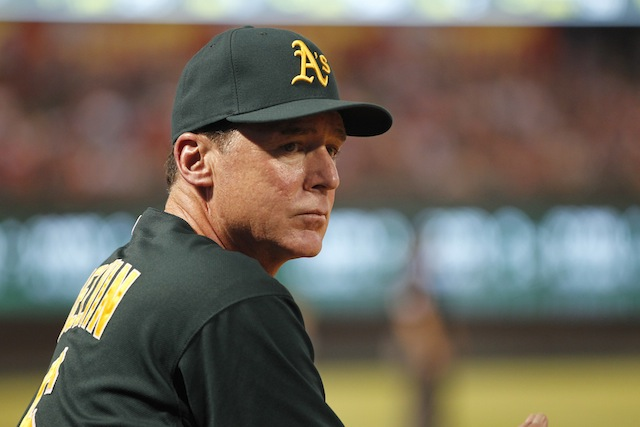 Among the things we like about the 2014 A's? The man in the dugout. (USATSI)