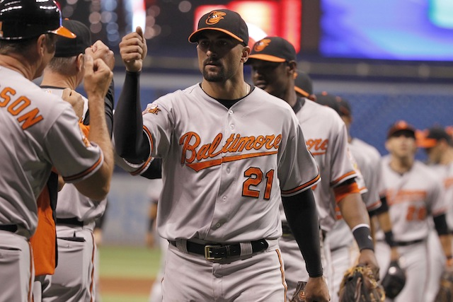 Have the Orioles been the beneficiaries of good luck thus far in 2014? (USATSI)