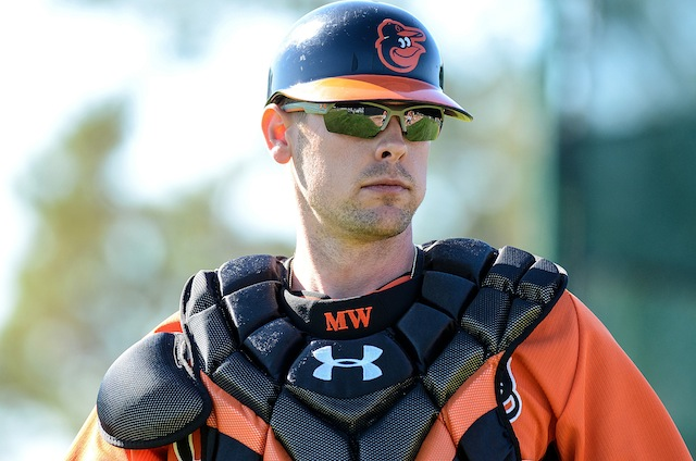 There's good and there's bad when it comes to Matt Wieters and the Orioles. (USATSI)