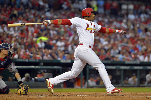 Oscar Taveras has made adjustments, but that may not be enough. (USATSI)